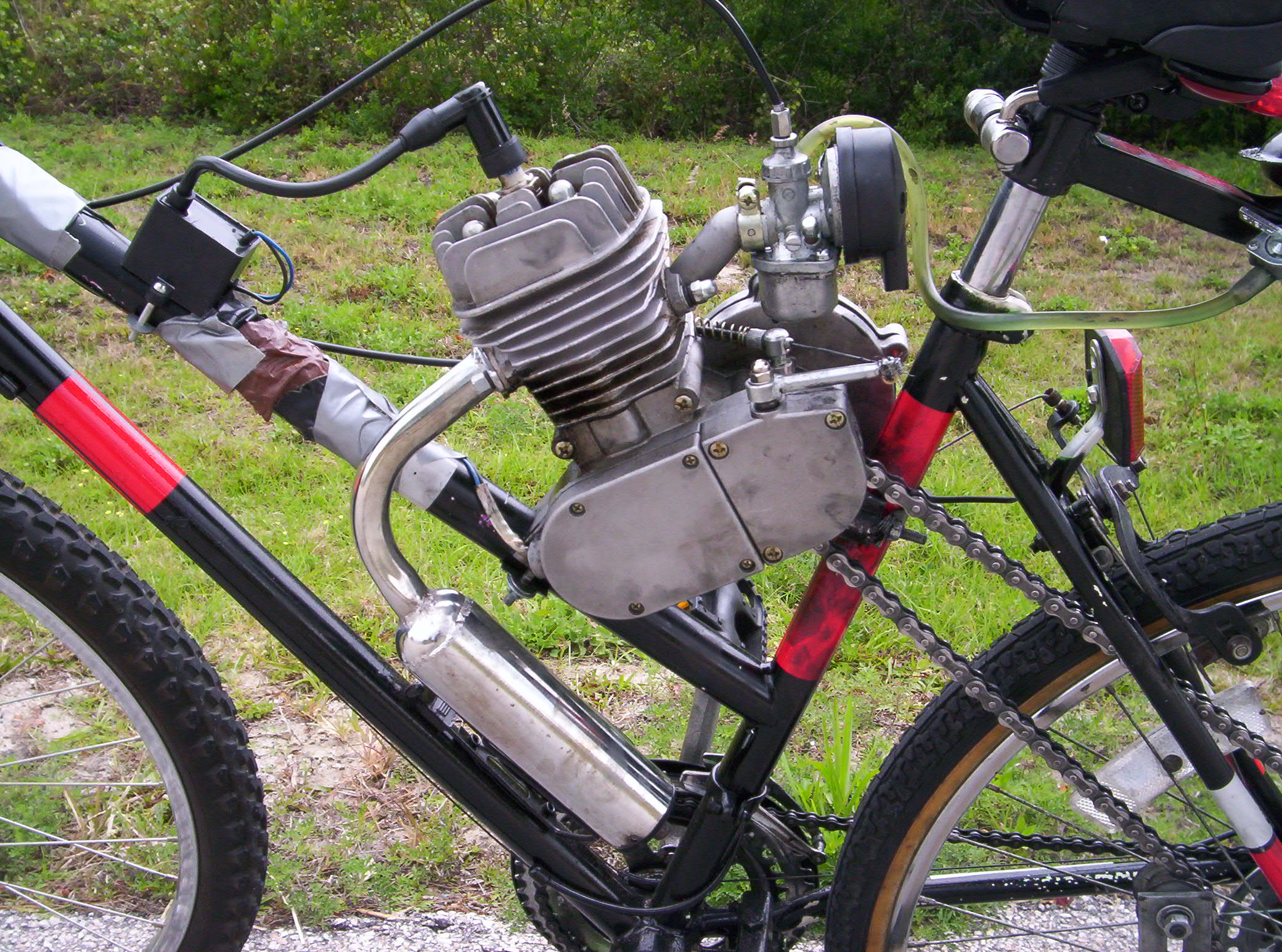 Bicycle With Motor Engine Bicycle Free Engine Image For